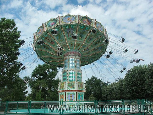 Les chaises volantes jardin d'acclimatation
