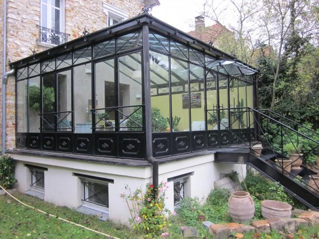 Veranda jardin d\'hiver à l\'ancienne - veranda-styledevie.fr
