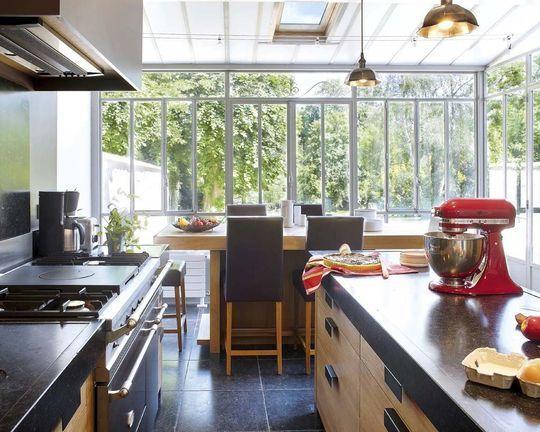 Extension veranda pour cuisine - veranda-styledevie.fr