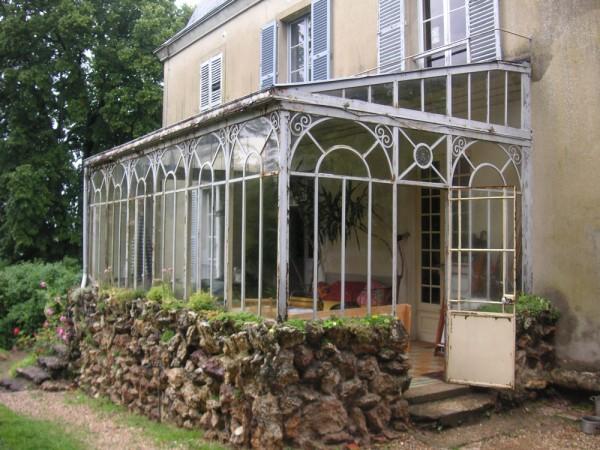 Veranda en acier à l'ancienne - veranda-styledevie.fr
