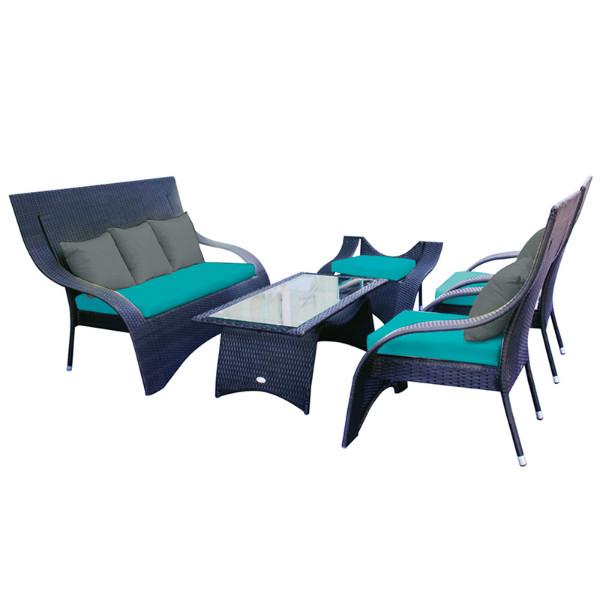 chaise longue de jardin weldom veranda