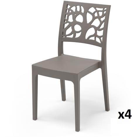 Chaise jardin plastique auchan - veranda-styledevie.fr
