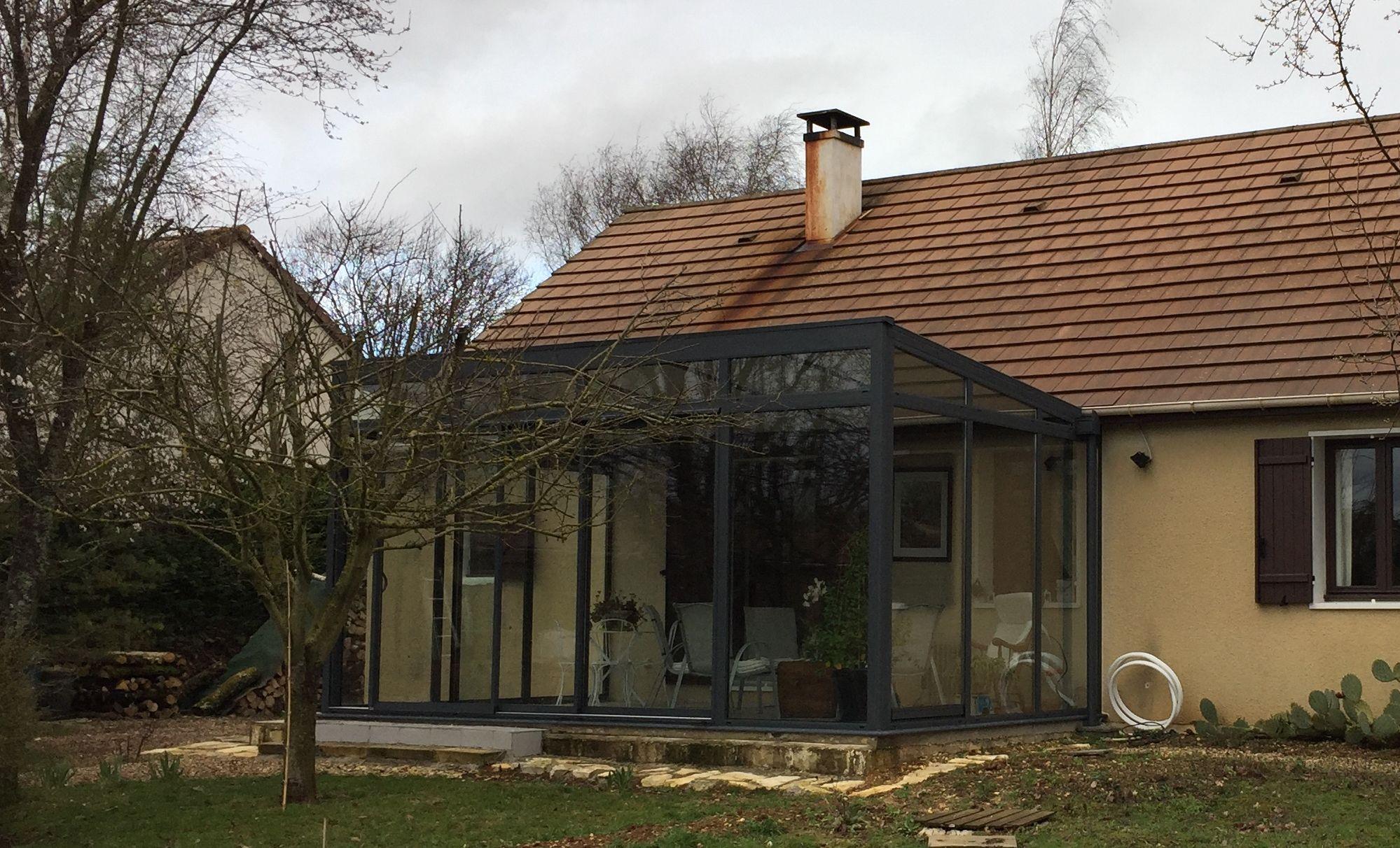 Veranda bois grenoble - veranda-styledevie.fr