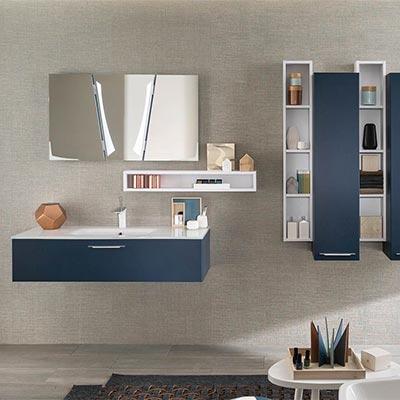 Meuble salle de bain haut etroit - veranda-styledevie.fr