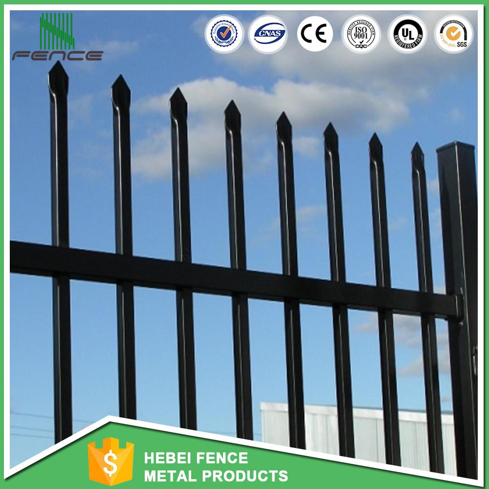 Veranda metal fencing