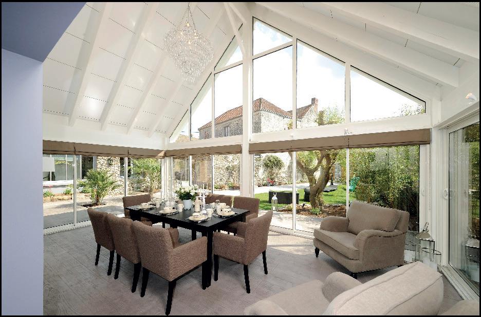 amenagement de veranda interieur veranda. Black Bedroom Furniture Sets. Home Design Ideas