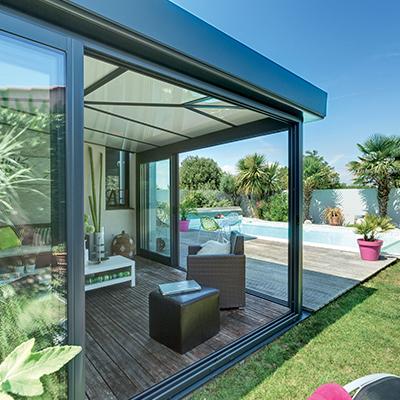 extension veranda rideau veranda. Black Bedroom Furniture Sets. Home Design Ideas