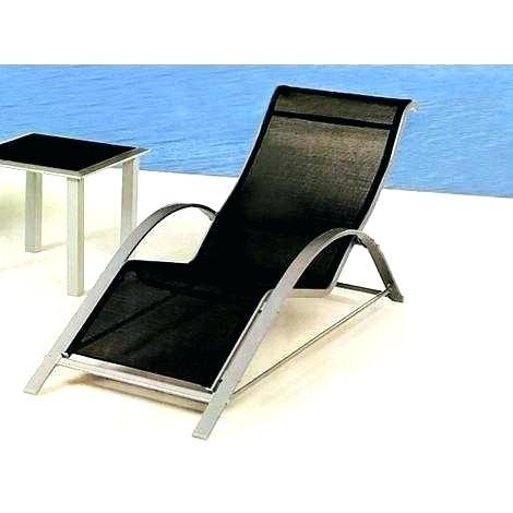 Chaise longue de jardin la foir\'fouille - veranda-styledevie.fr