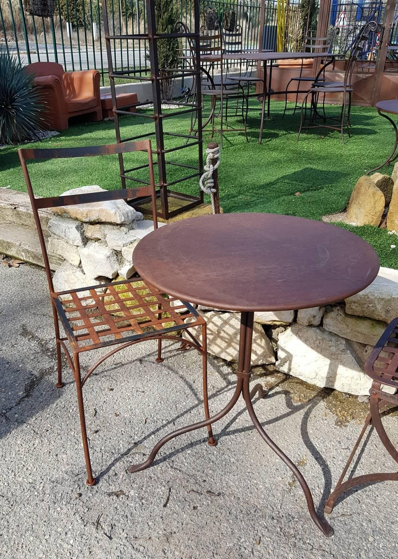 Veranda Fer Jardin Chaise Noir Chaise n0NwXP8OkZ