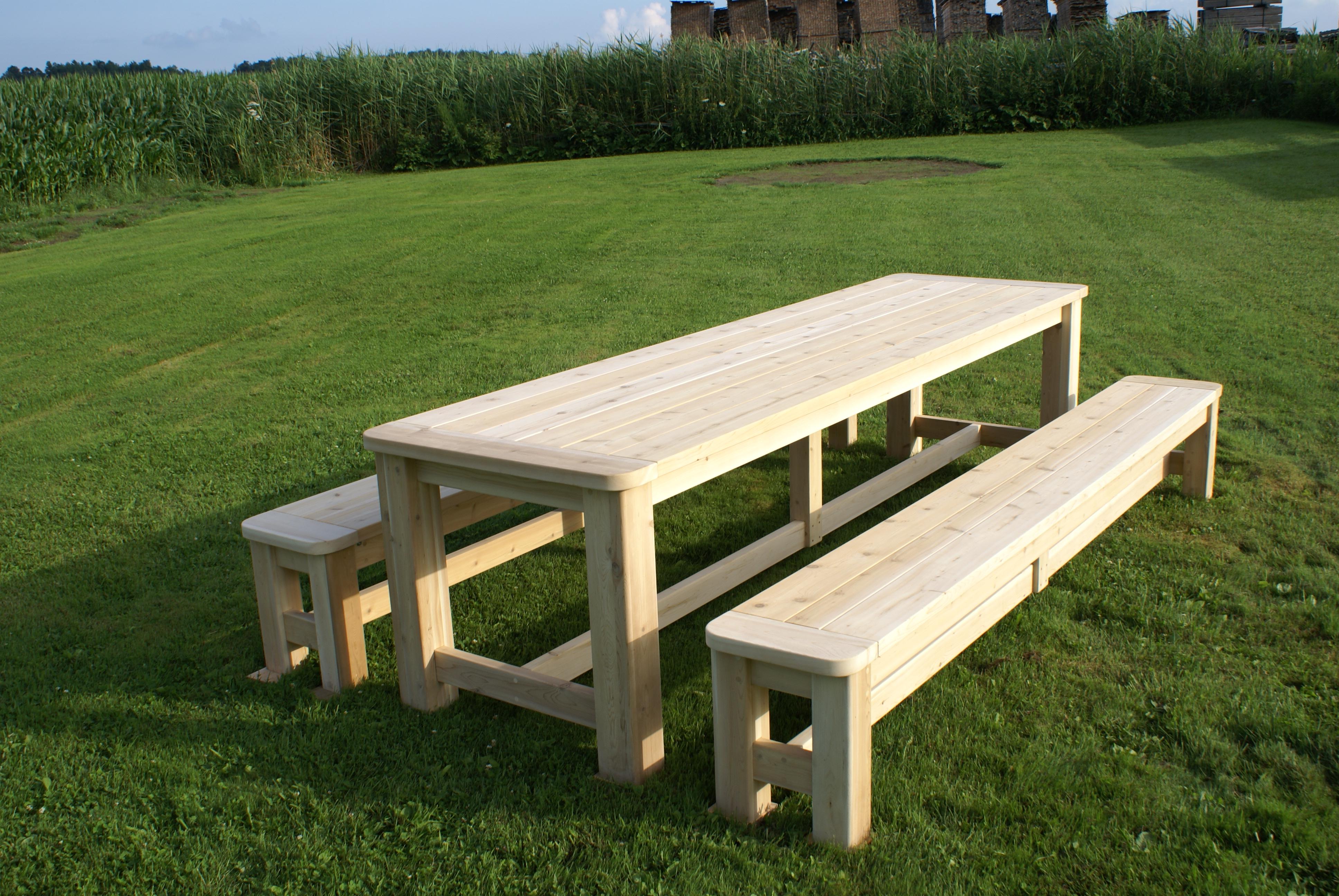 Table Bois Exterieur Pas Cher Veranda Styledeviefr