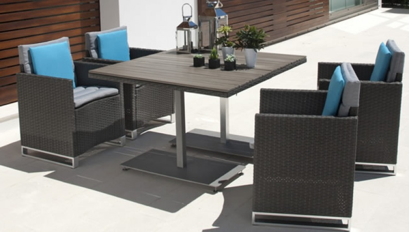Table de jardin avec chaise carrefour - veranda-styledevie.fr