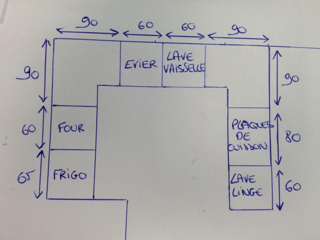 dimension meuble d 39 angle bas cuisine veranda. Black Bedroom Furniture Sets. Home Design Ideas