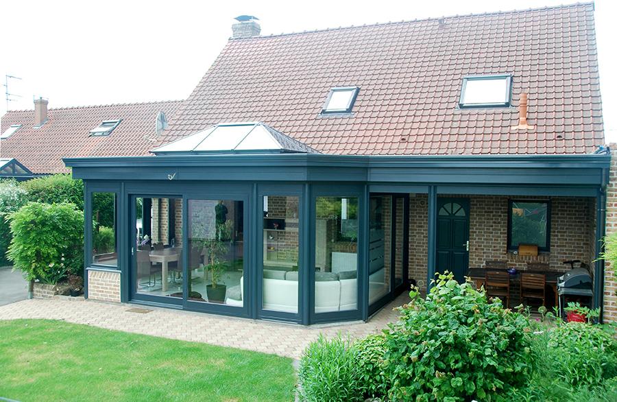 Extension ossature bois ou veranda
