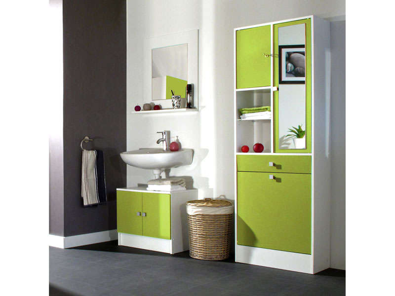 Meuble haut miroir salle de bain conforama - veranda-styledevie.fr