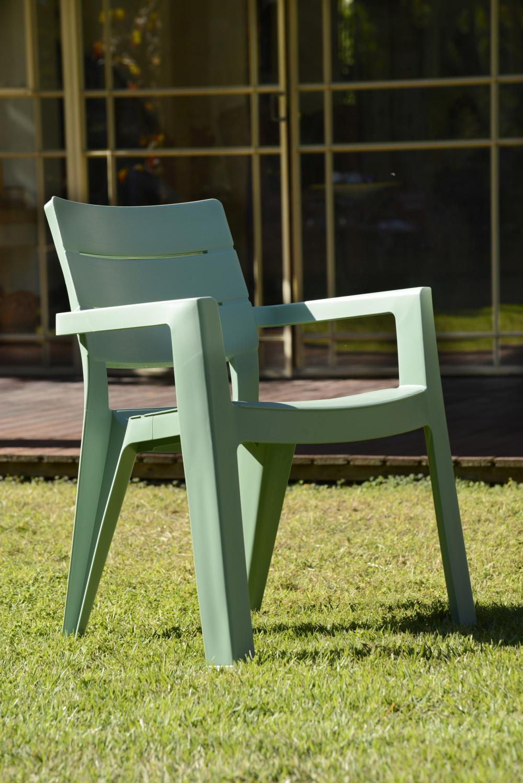Chaise de jardin magasin vert
