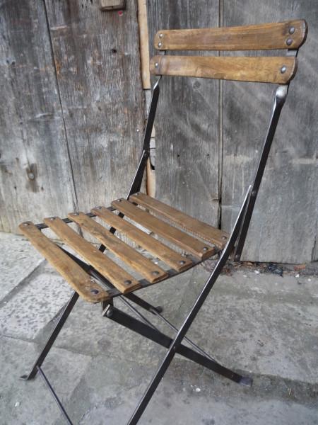 Chaise Pliante Bois Ancienne