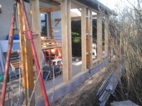 Fabriquer sa veranda en bois - veranda-styledevie.fr