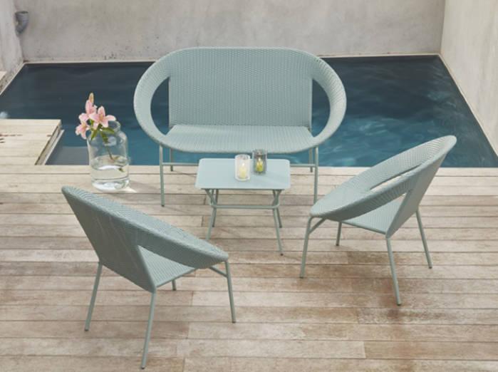 Mobilier jardin design - veranda-styledevie.fr