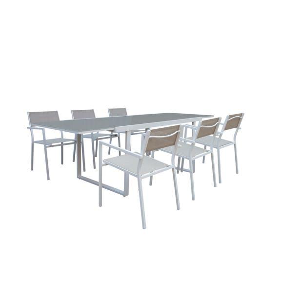 Salon de jardin et chaise carrefour - veranda-styledevie.fr