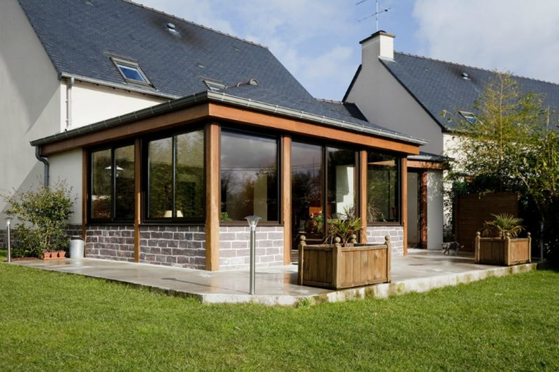 Veranda d'une maison - veranda-styledevie.fr