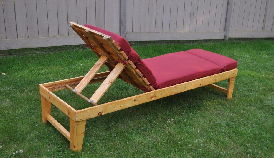 Chaise Longue De Jardin Ancienne