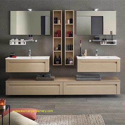 Meuble d\'angle salle de bain aubade - veranda-styledevie.fr