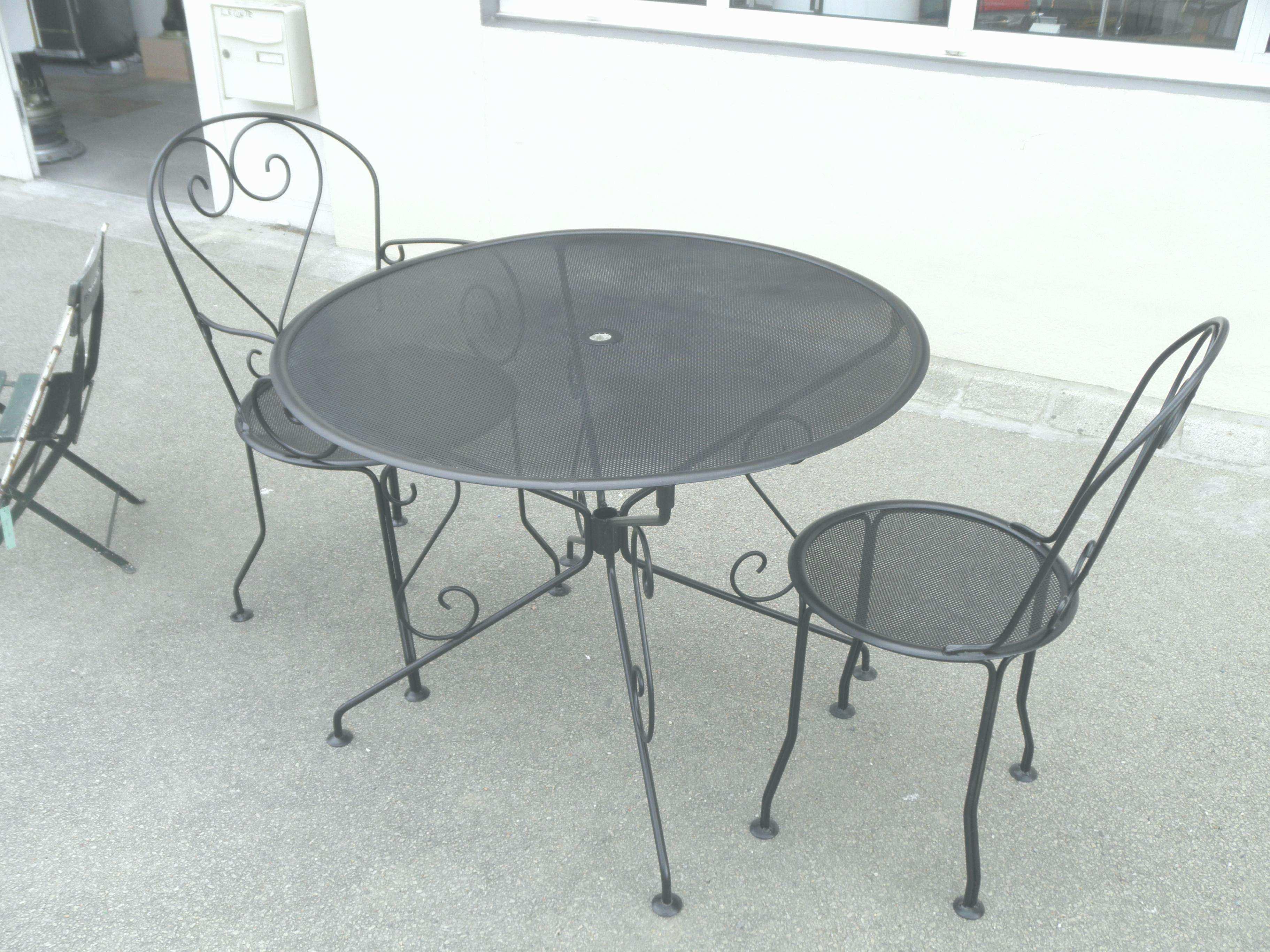Table et chaise jardin babou - veranda-styledevie.fr