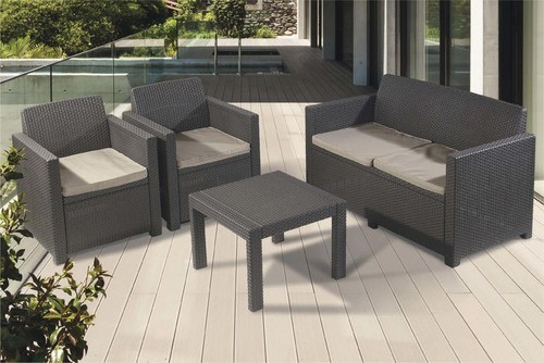 Chaise de jardin allibert leclerc - veranda-styledevie.fr
