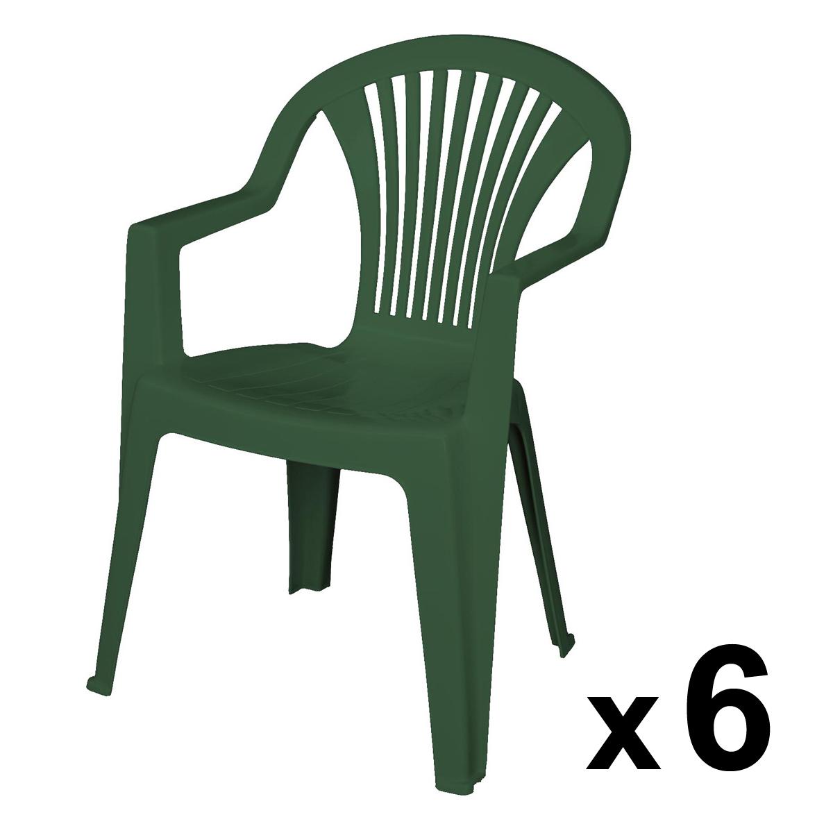 Jardin Chaise Veranda Plastique De Vert 2WD9EHIeY