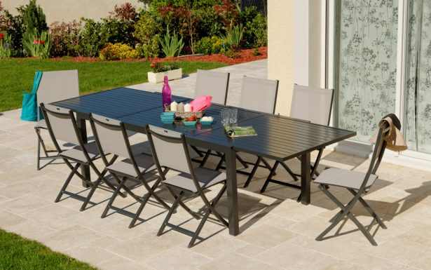 Table chaise jardin le bon coin - veranda-styledevie.fr