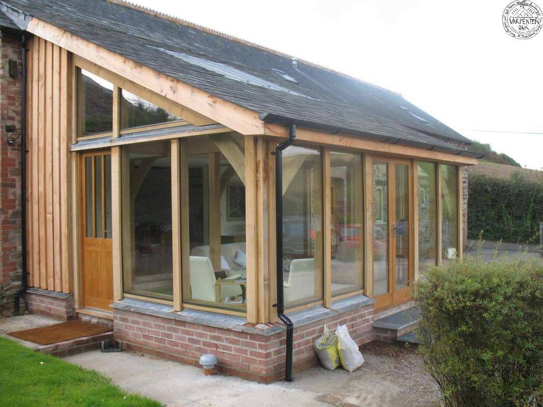 Idee de veranda en bois - veranda-styledevie.fr