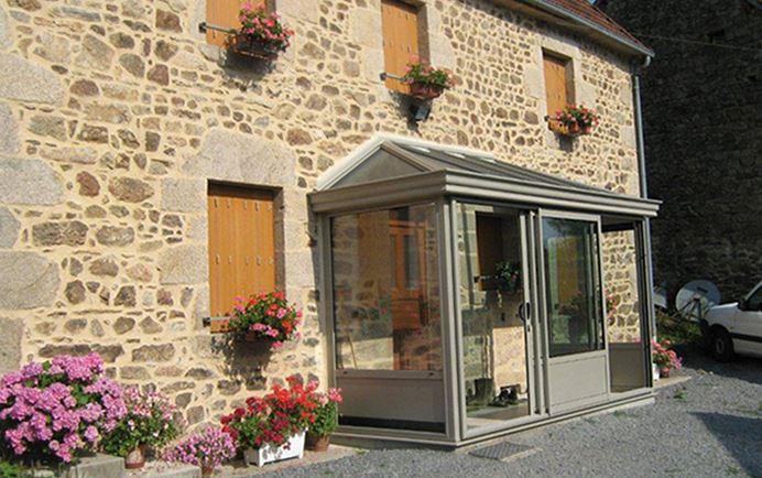Veranda hall d'entrée - veranda-styledevie.fr