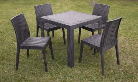 Table et chaise jardin auchan - veranda-styledevie.fr