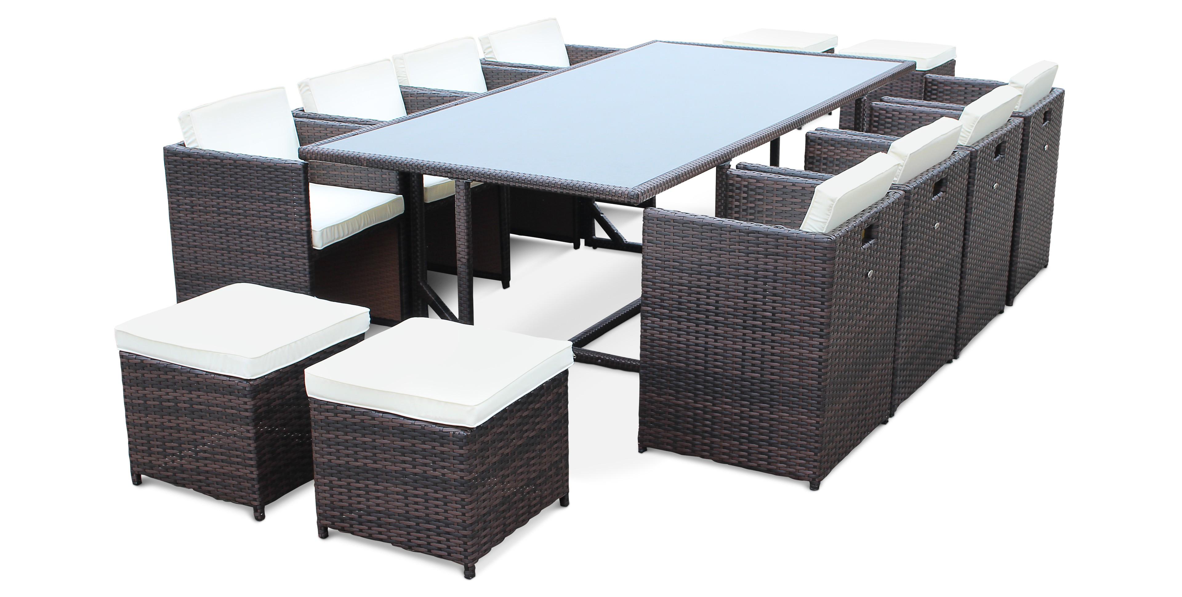 Table Et Chaise De Jardin En Resine Tressee Pas Cher