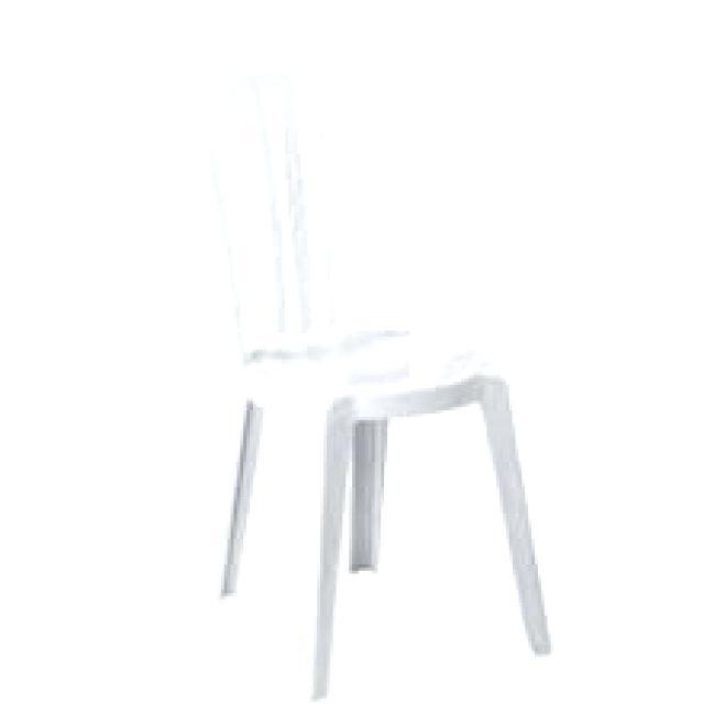 Nettoyer Chaise Blanche De Jardin