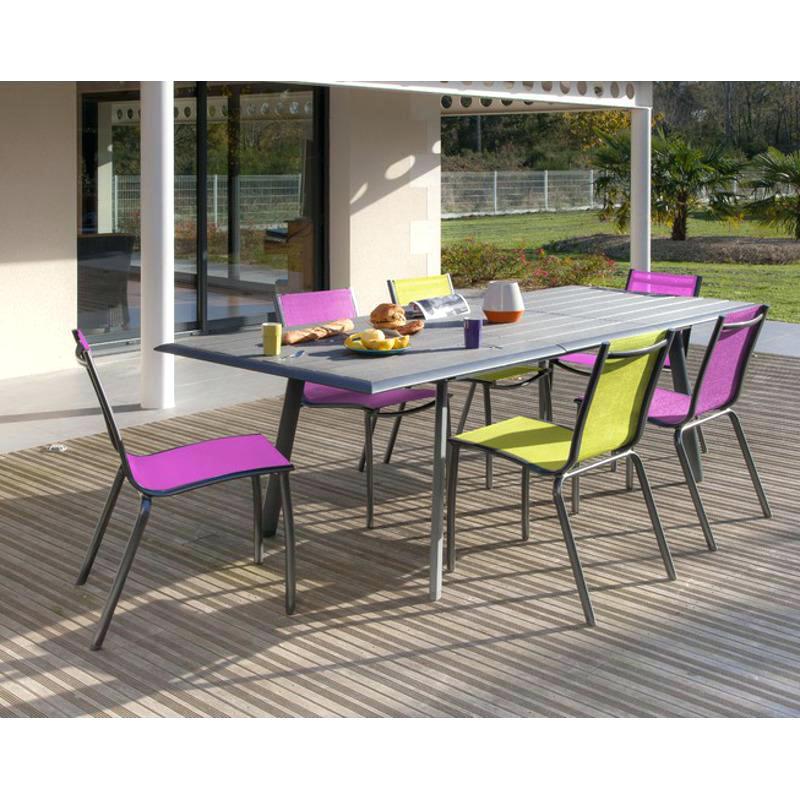 Chaise jardin couleur - veranda-styledevie.fr