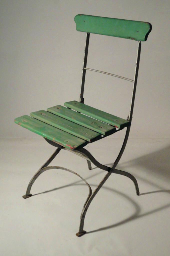 Chaises de jardin en fer occasion