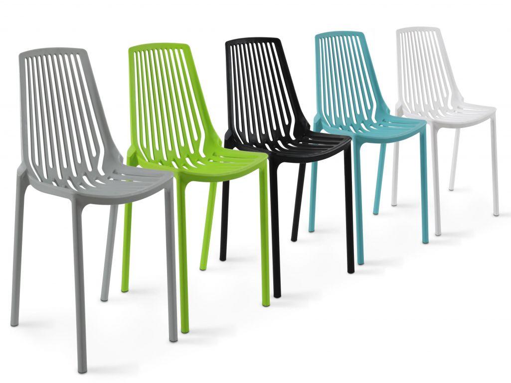 Chaise plastique jardin maroc - veranda-styledevie.fr