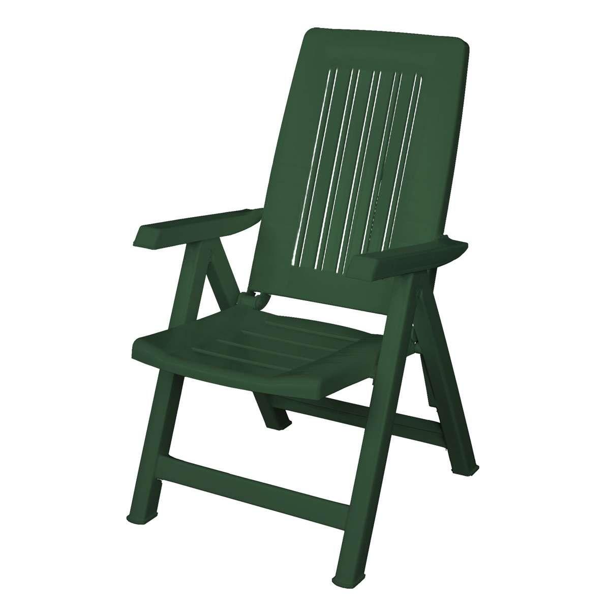 Chaise de jardin grosfillex vert - veranda-styledevie.fr