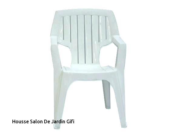 Chaise de jardin plastique la foir\'fouille - veranda-styledevie.fr