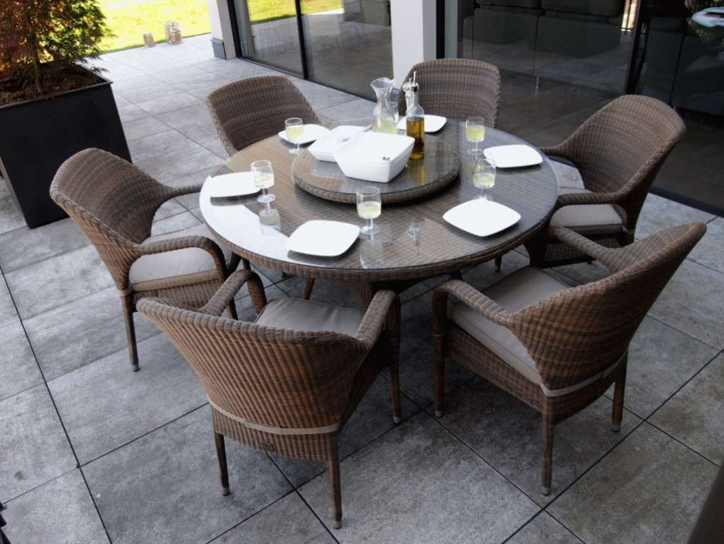 Table Ronde Chaise Jardin