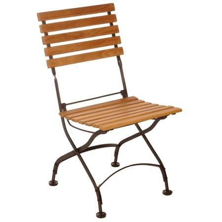 Chaise De Jardin Bois Et Fer Forgé Veranda Styledeviefr