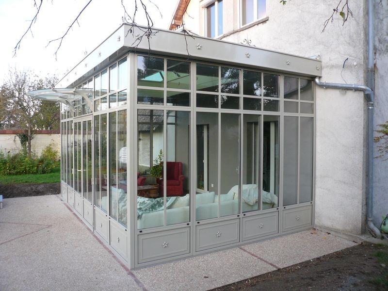 Veranda jardin hiver - veranda-styledevie.fr