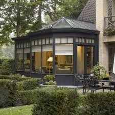 Veranda bois ancienne - veranda-styledevie.fr