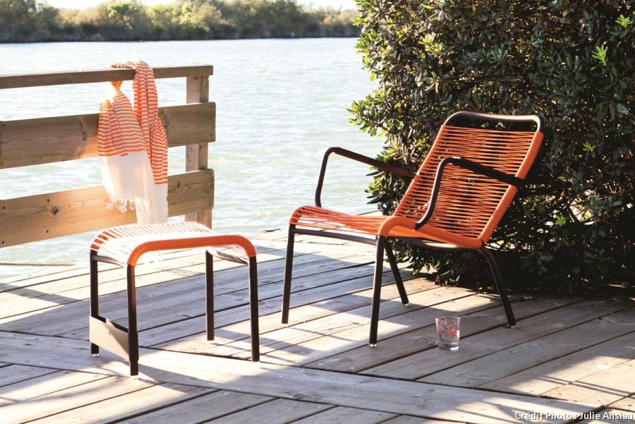 Fauteuil de jardin vintage - veranda-styledevie.fr