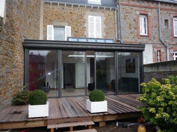 prix m2 veranda toit plat veranda. Black Bedroom Furniture Sets. Home Design Ideas