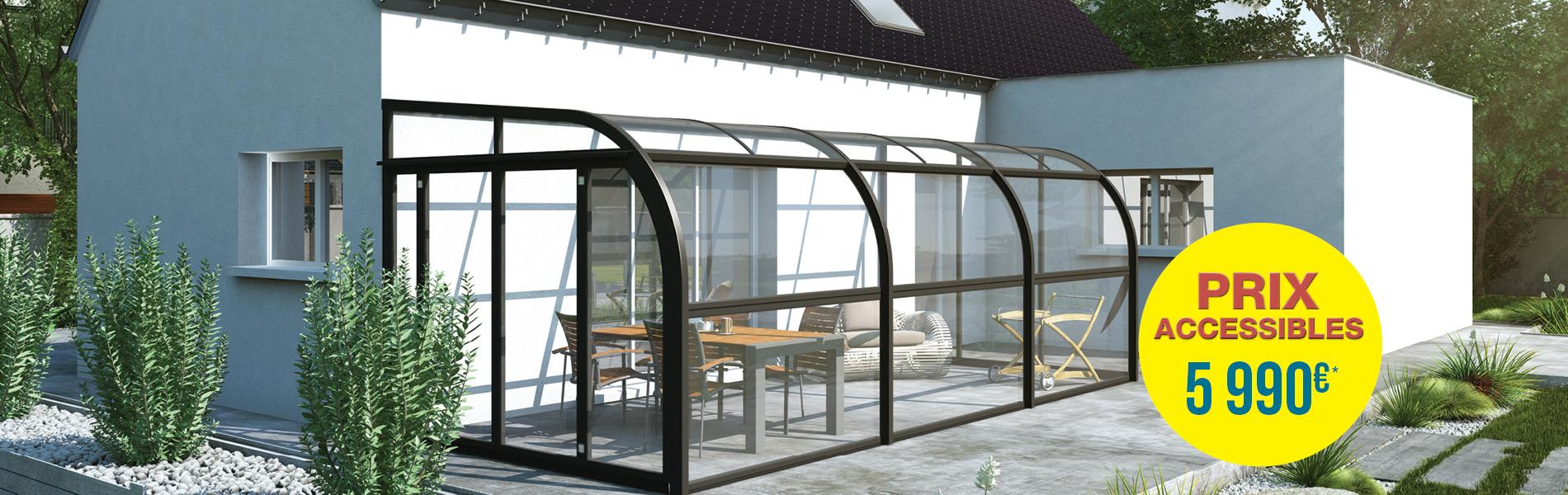 veranda rideau prix au m2 veranda. Black Bedroom Furniture Sets. Home Design Ideas