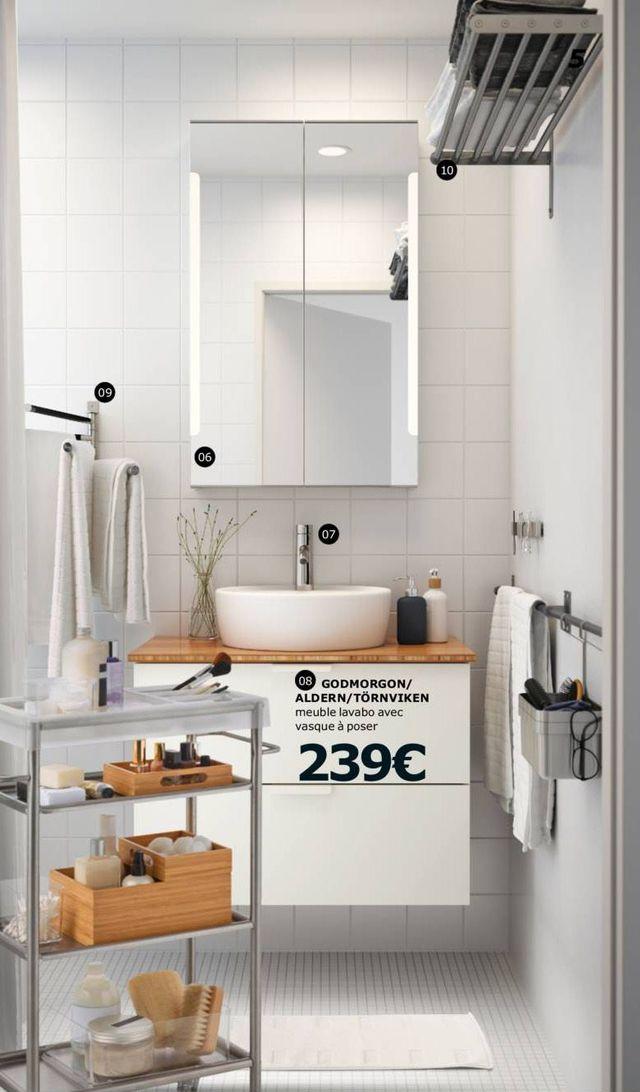 Meuble Haut Miroir Salle De Bain Ikea