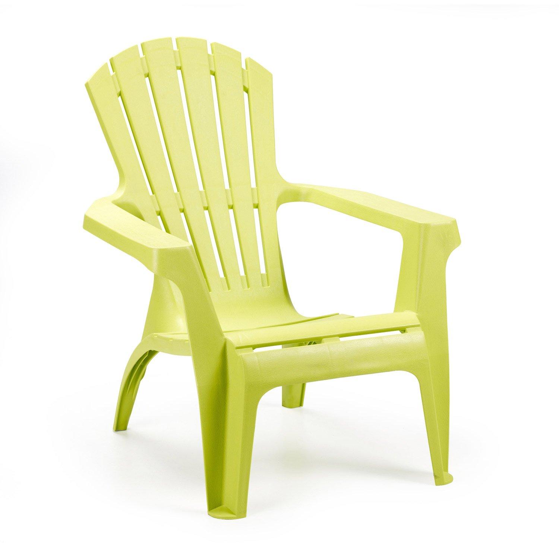 Chaise de jardin vert bouteille