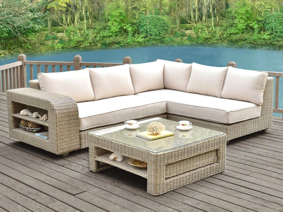 Canape d'angle pour veranda - veranda-styledevie.fr